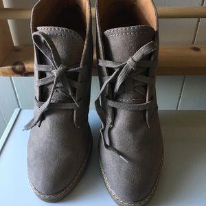 New Merona Gray Booties